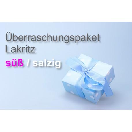 Überraschungspaket Lakritz süß/salzig