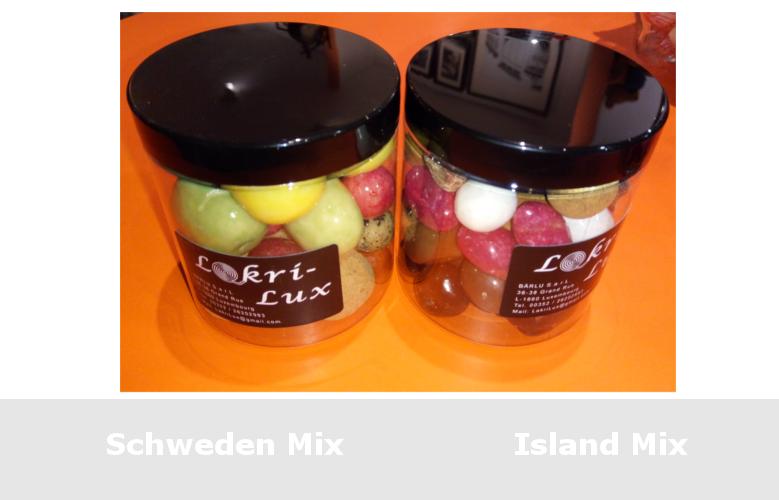 Schokolakritz aus Schweden und Island